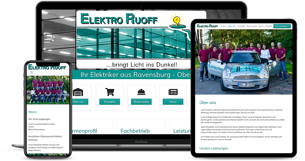 Elektro Ruoff Referenz Devices