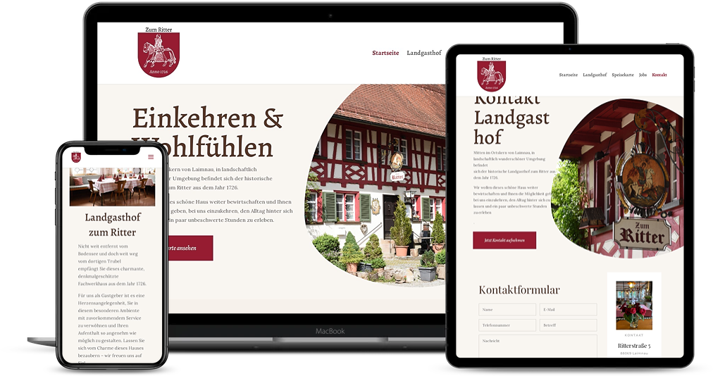 Landgasthof zum Ritter Referenz Devices